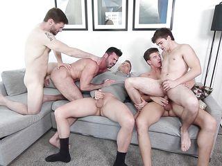 гей порно двойной анал