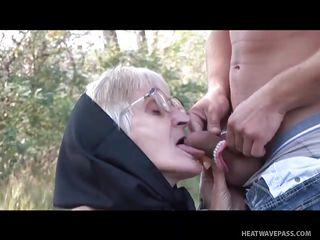 Порно бабушки британские